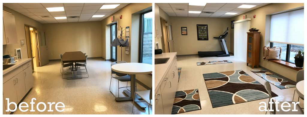 "Mantua Township converted a ""Break Room"" into a ""Wellness Room"