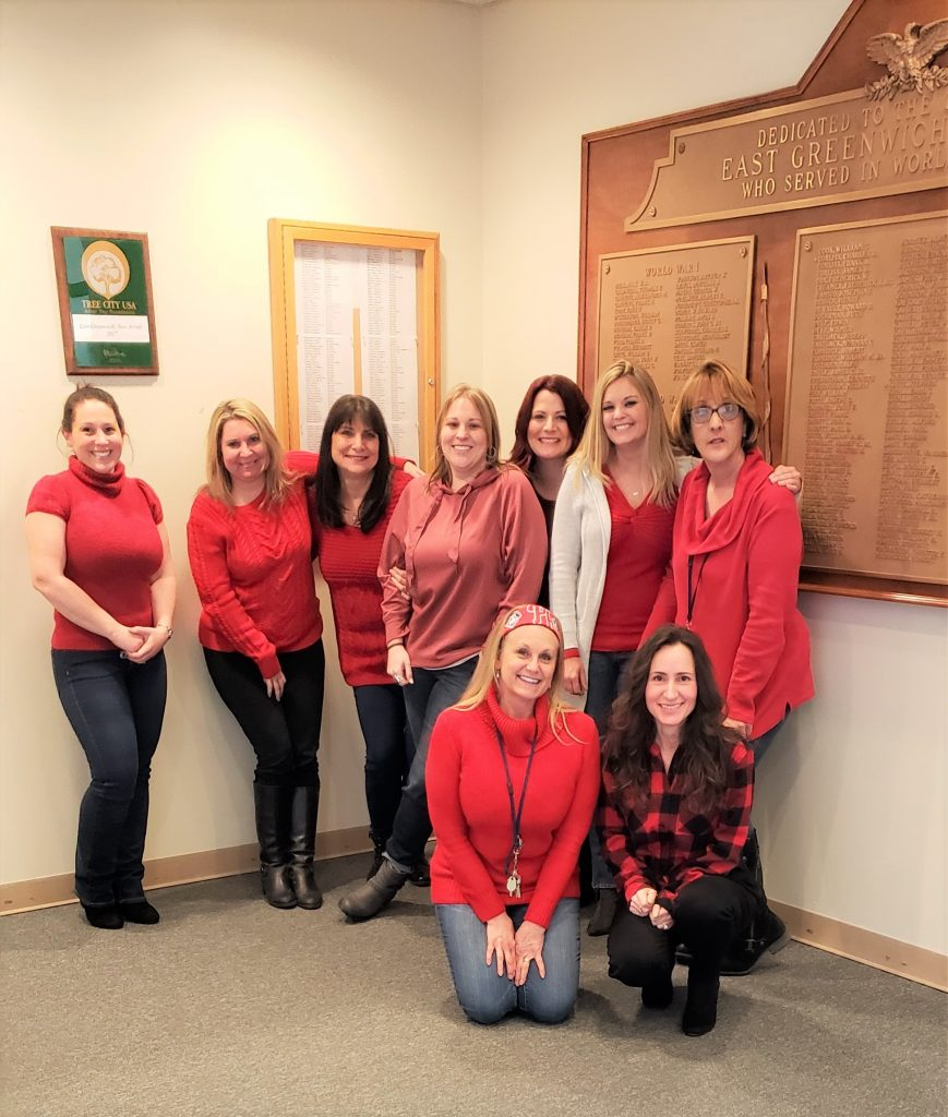 Celebrate National Wear Red Day