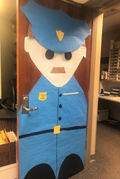Door - Police