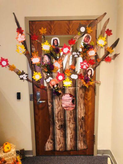 Door - Tree
