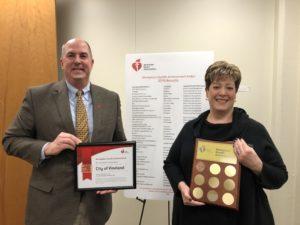 AHA Award -Vineland