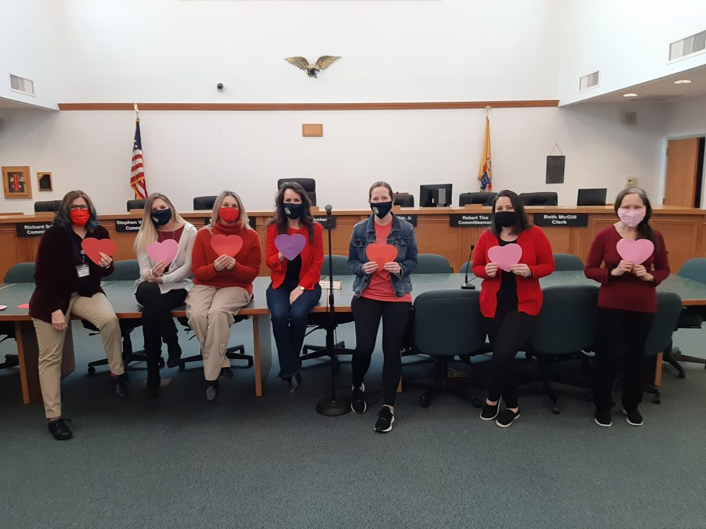 E Greenwich celebrates national wear red day